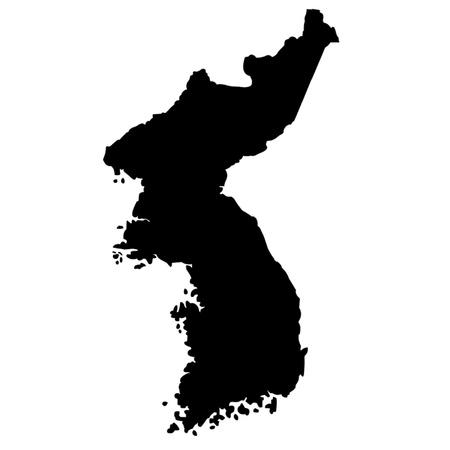 pyongyang: Map of Korea