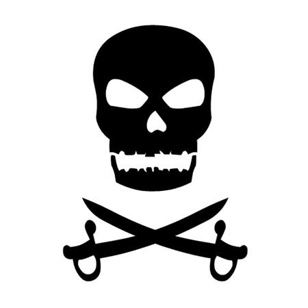 Skull and Crossed Swords Stock Vector - 14227383