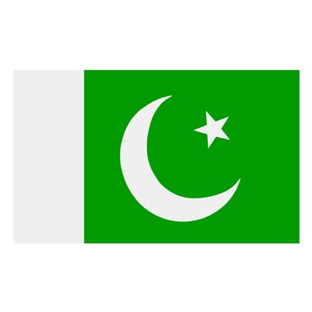 islamabad: Flag of Pakistan