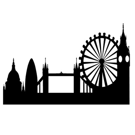 London Skyline Stock Vector - 14828134