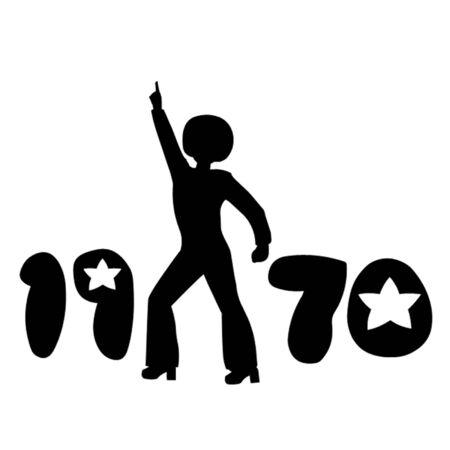 seventies: Retro Seventies Man
