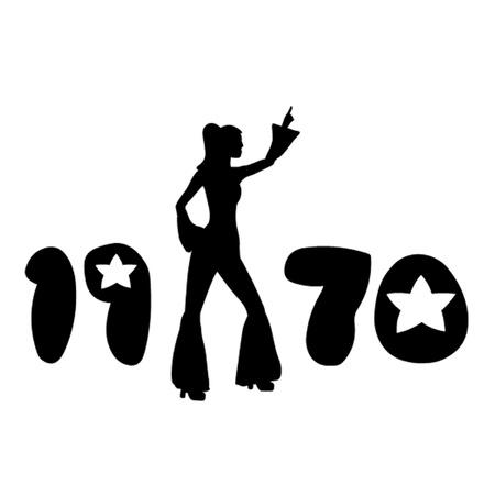 seventies: Retro Seventies Woman