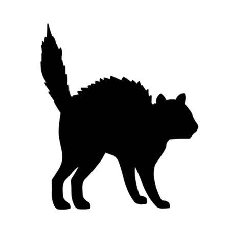 Cat in Halloween Pose Ilustração