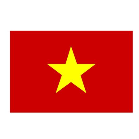 vietnam war: Flag of Vietnam Illustration