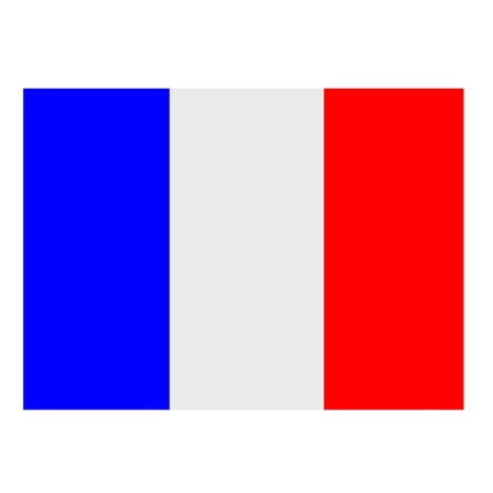 French Flag Illustration