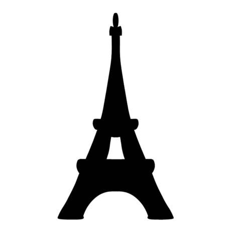 Eiffel Tower Stock Vector - 15357319