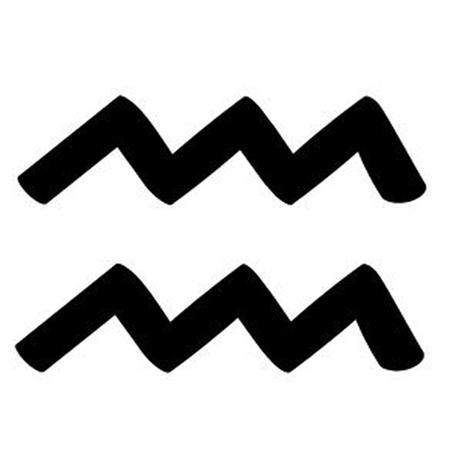 Aquarius - Waterbearer - Astrology Sign Stock Vector - 15357315