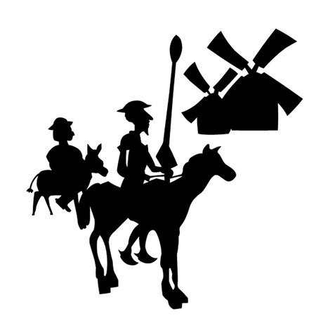 don quichotte: Don Quichotte Illustration