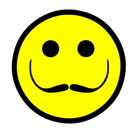 Salvador Dali Artistic Smiley Stock Vector - 15736976