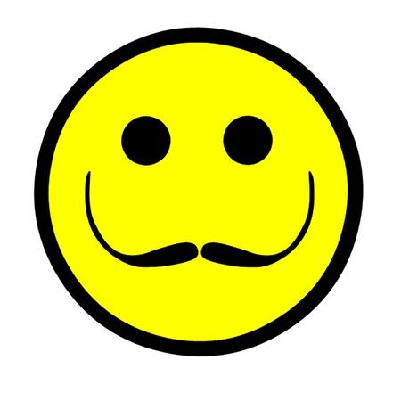 Salvador Dali Artistic Smiley Stock Vector - 15736976