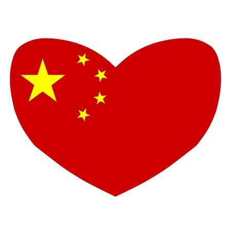 Love China Stock Vector - 15866581