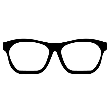 Nerd Glasses Illustration