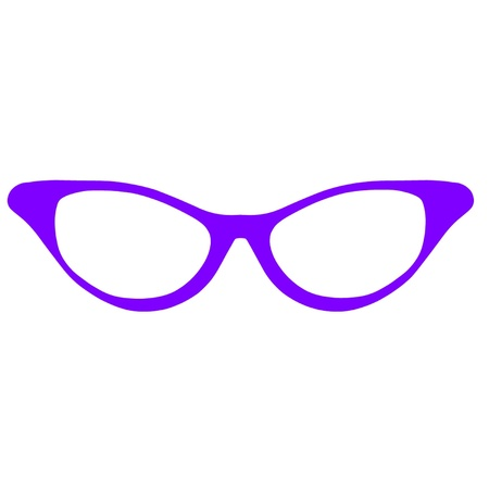 Horn Rimmed Glasses Stock Vector - 16728574