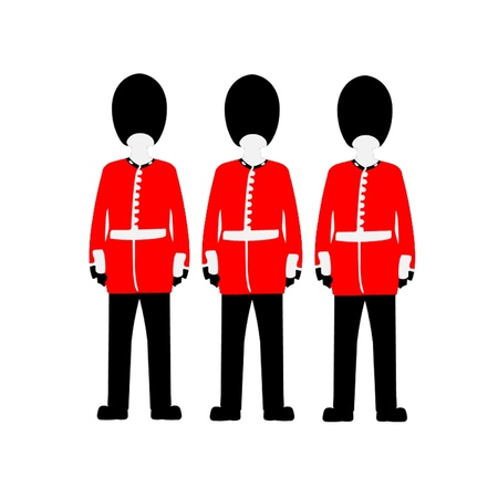 Queen s Guard Vector