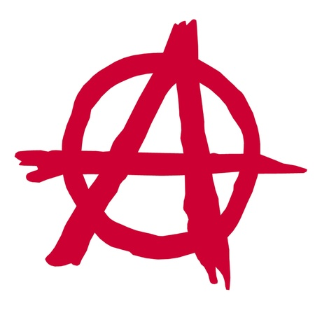 Anarchy Symbol Stock Vector - 17077143
