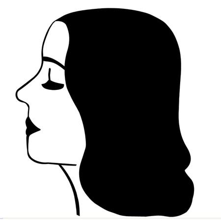 Beautiful Young Woman Stock Vector - 17230911