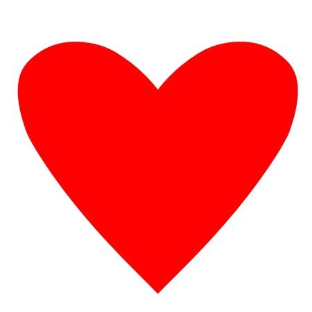 Poker Card Suit Heart Vector