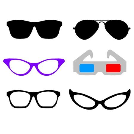 accessorize: Glasses Illustration