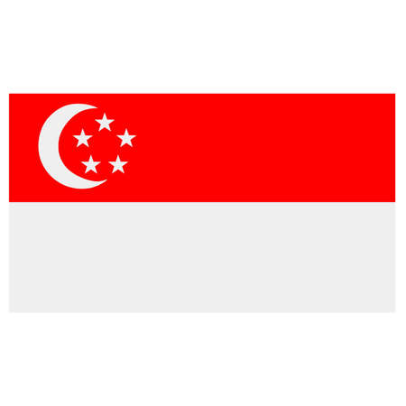 emerging markets: Singapore Flag