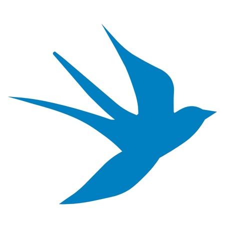 Nautical Swallow Illustration