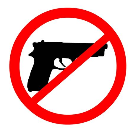 self defense: Pistolas Ban