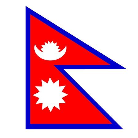 Flag of Nepal Illustration