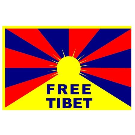 tibet: Free Tibet Flag