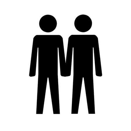 masculinity: Gay Couple Symbol