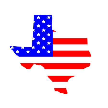 American State of Texas Vector