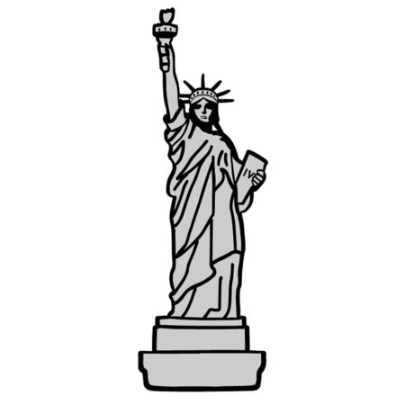 declaration of independence: American Statue of Liberty