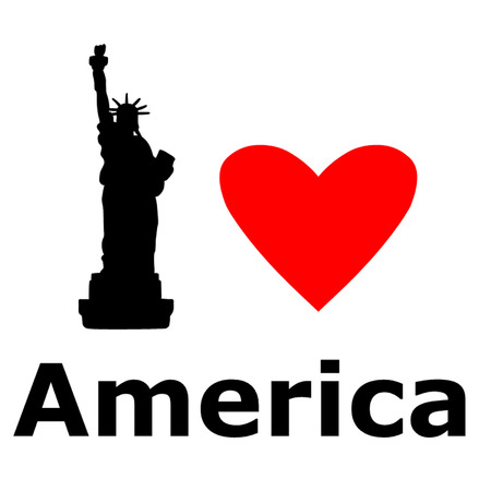 declaration of independence: Love America