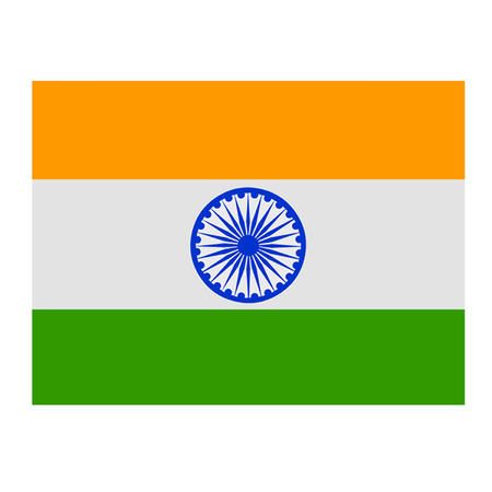 Flag Of India Illustration