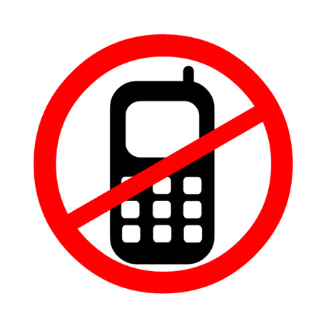 No Use Of Mobile Phones Symbol Royalty Free Cliparts Vectors And