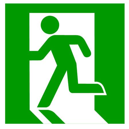出口標識  イラスト・ベクター素材