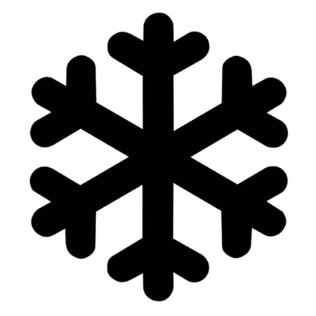 icy conditions: Snow Flake Illustration