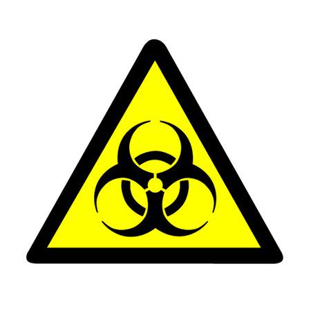 biological waste: Biohazard Warning