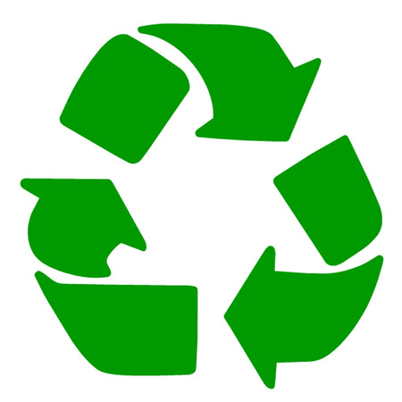 polluting: Recycling Symbol
