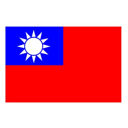 Drapeau de Taïwan Banque d'images - 27373249