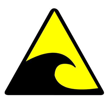 Tsunami Gevaarensmbool