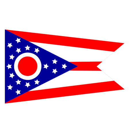 midwest: Flag of Ohio