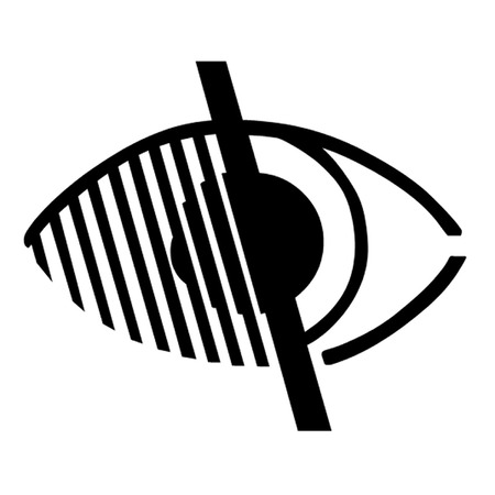 disabled access: Access for Impaired Vision Eye Symbol