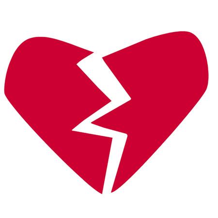 heartache: Broken heart