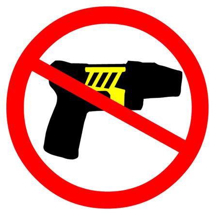 Ban Tazer Guns Stok Fotoğraf - 31085046