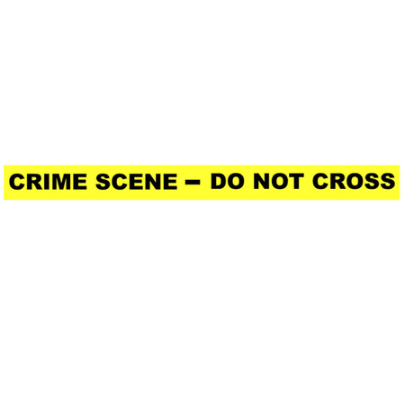 do not cross: Cinta de la escena del crimen - No cruce Vectores