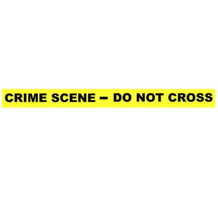 Crime Scene Tape - Do Not Cross