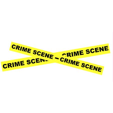 forensic science: Crime Scene Tape