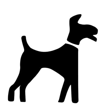 pooch: Dog Symbol