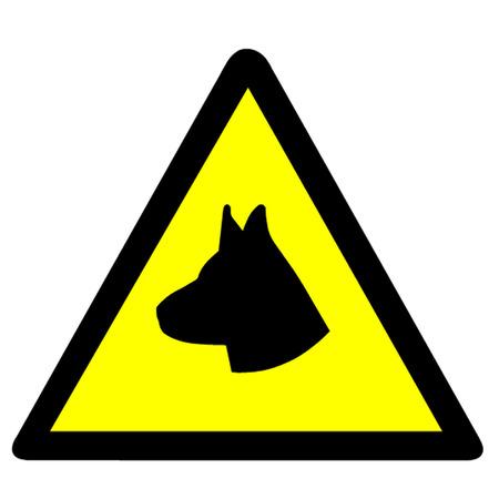 break in: S�mbolo Guard Dog Vectores