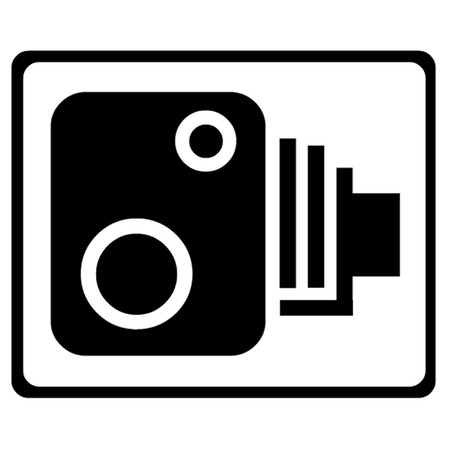 traffic violation: Speed Camera Symbol