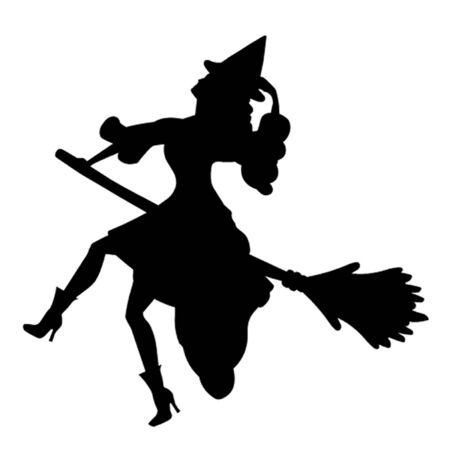 broomstick: Witch on a Broomstick